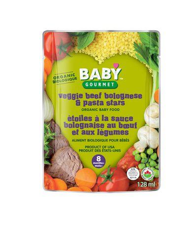 Boeuf bolognaise & pâtes aux légumes Biologique - image 1 de 1