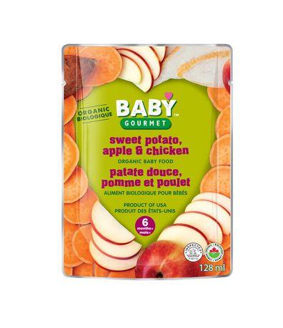 Baby Gourmet Foods Inc Patate Douce, Pomme et Poulet Biologique - image 1 de 1