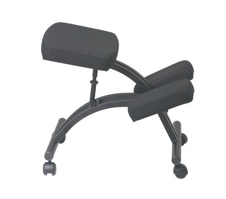 Chaise ergonomique appui genoux de office star walmart for Chaise ergonomique genoux