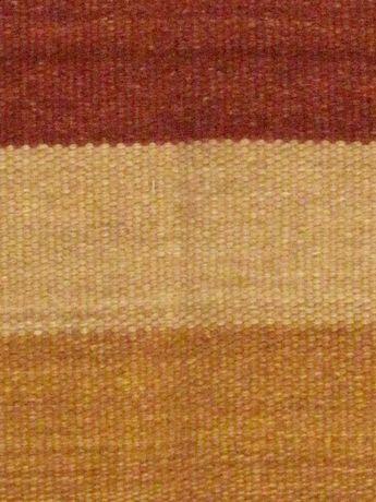 Kilim Tissésmain Fiesta Brun Orange Laine 5'7x7'10 - image 4 de 5