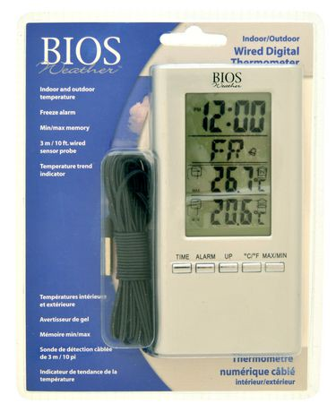 BIOS Digital In/Out Thermometer | Walmart Canada