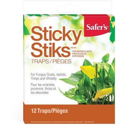 Safer's Sticky Stiks - 12 Traps