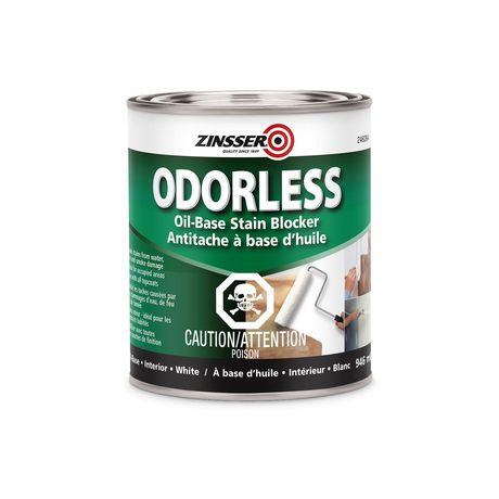 Apprêt à base d'huile sans odeur Zinsser en blanc - image 1 de 1