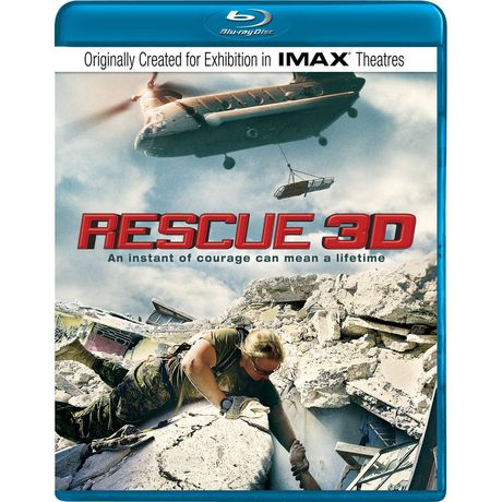 Rescue - IMAX 3D (Blu-ray) (English) - image 1 of 1