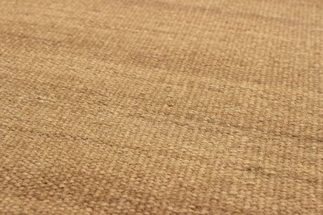 """Kilim Tissés-main Natural Khaki Laine  5'6"""" x 8'0"""" - image 2 de 3"""