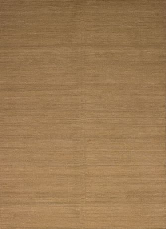 """Kilim Tissés-main Natural Khaki Laine  5'6"""" x 8'0"""" - image 1 de 3"""