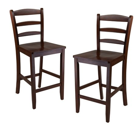 Winsome 94244 Counter Ladder Back Stool Walmart Canada