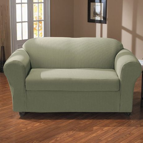 sure fit spencer stretch sofa slipcover walmart canada rh walmart ca sofa slipcover walmart Slipcovers for Sofas with Cushions