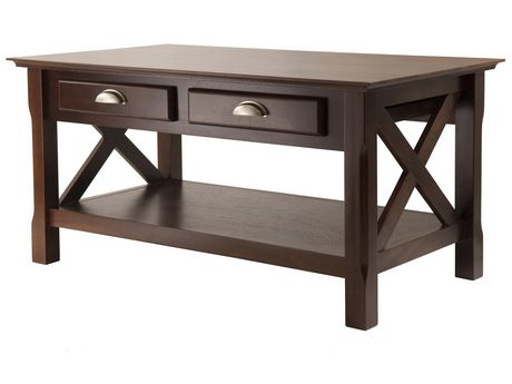 winsome 40538 xola coffee table
