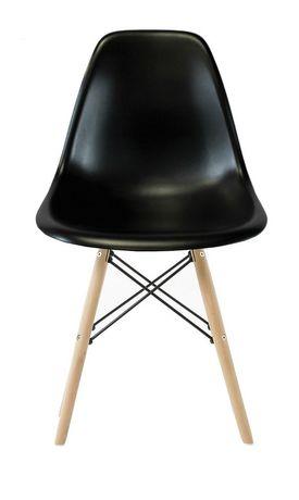 Chaise Eiffel Wood En Noir