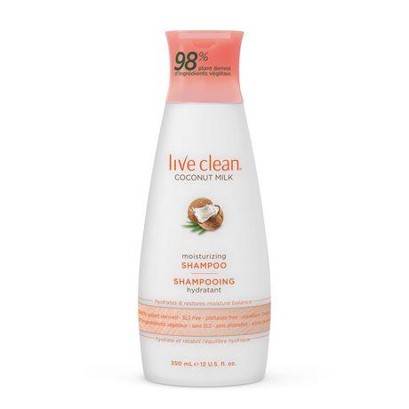 Live Clean Shampoing Hydratant Coconut Milk (huile de coco) - image 8 de 8