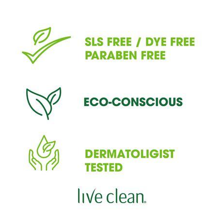 Live Clean Shampoing Hydratant Coconut Milk (huile de coco) - image 5 de 8