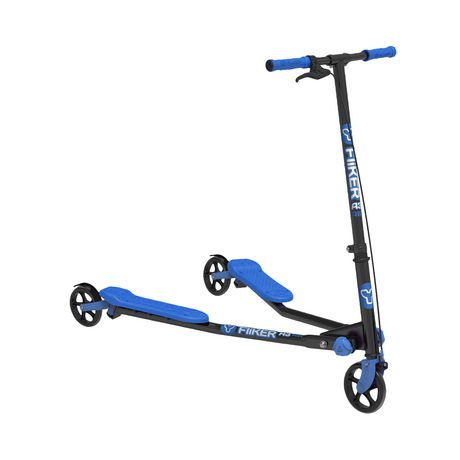 Y Fliker Scooter >> Y Fliker A3 Air Kids Scooter Blue And Black