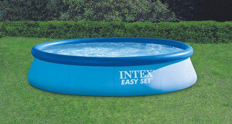 Intex 16 39 x 42 easy set pool walmart canada for Gunstige poolsets