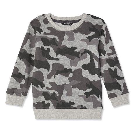 Sweatshirt à encolure ronde George pour petits garçons - image 1 de 2