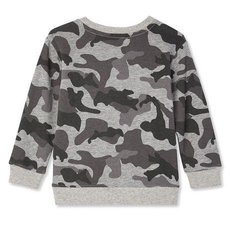 Sweatshirt à encolure ronde George pour petits garçons - image 2 de 2
