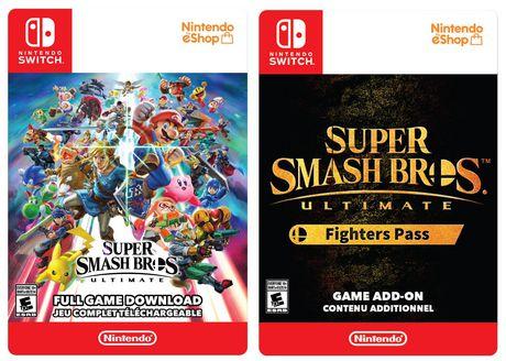 Super Smash Bros. Ultimate Fighter Pass Bundle [Download] - image 1 de 1