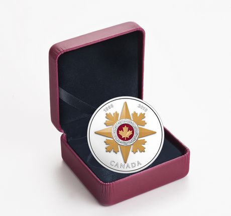 1 Oz Fine Silver Coin - Canadian Honours 25th Anniversary of The Star of Military Valour - Royal Canadian Mint - image 3 of 3
