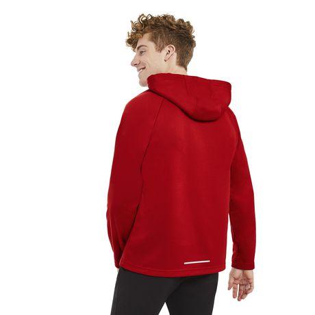 fleece athletic walmart hoody tech works mens