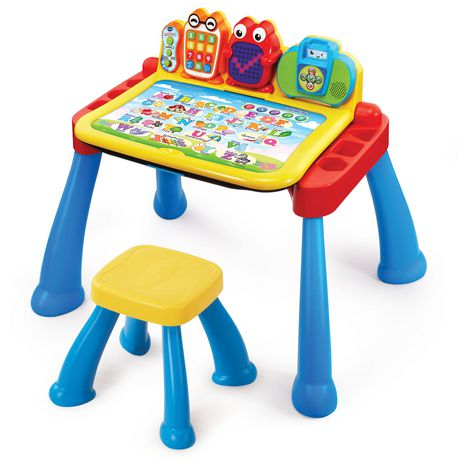 Vtech Touch & Learn Activity Desk Deluxe - English Version