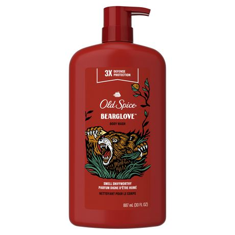 Old Spice Wild Bearglove Scent Body Wash for MEN - image 1 of 5