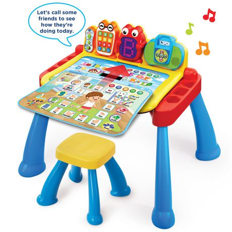vtech touch learn activity desk deluxe english version walmart canada. Black Bedroom Furniture Sets. Home Design Ideas