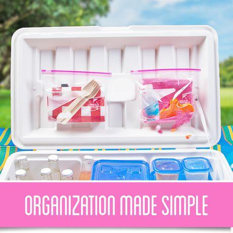 Ziploc conteneurs de stockage Carre Moyen 3 - image 4 de 4