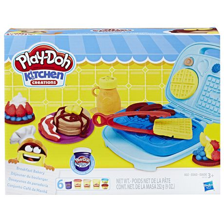 Play Doh Kitchen Creations Breakfast Bakery Walmart Canada