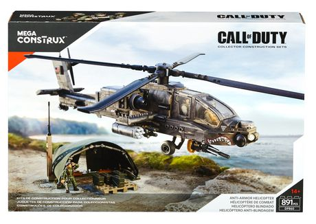Mega Bloks Mega Construx Call Of Duty Anti Armor Helicopter