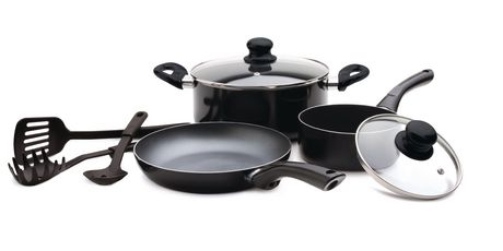 Starbasix - Non-stick aluminum 8pc cookware set - image 1 of 1