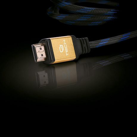 CJ Tech Premium 4K 3D HDMI 2.0 Cable with Ethernet - 3ft - image 1 of 3