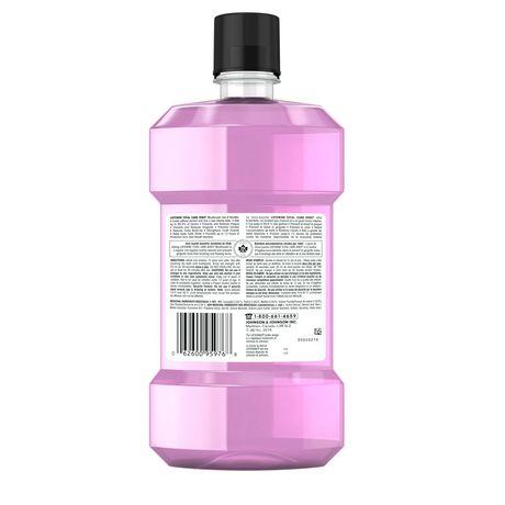 Listerine Total Care Zero Mild Mint Antiseptic Mouthwash, Alcohol Free - image 9 of 9