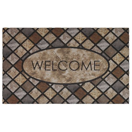 Welcome Polyester Doormat - image 1 of 1