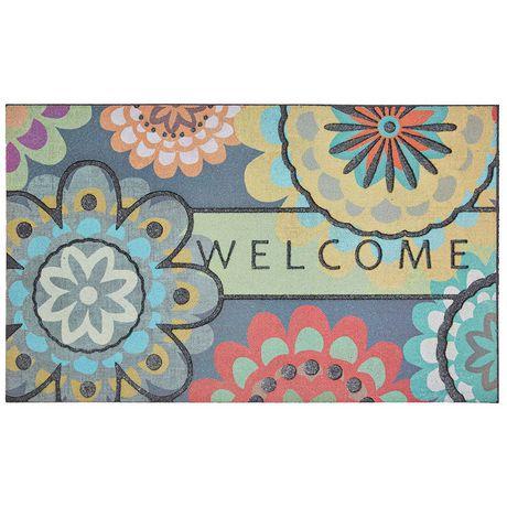 Dahlia Polyester Doormat - image 1 of 1