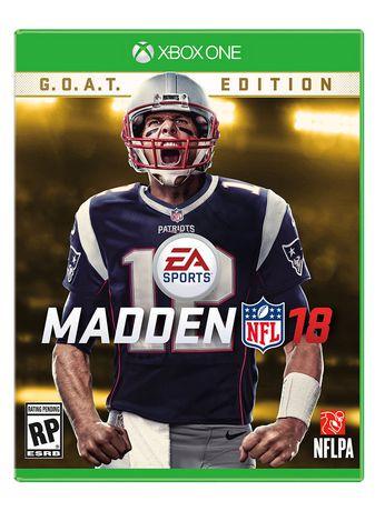 Madden NFL 18 G.O.A.T. Edition Xbox One Walmart.ca
