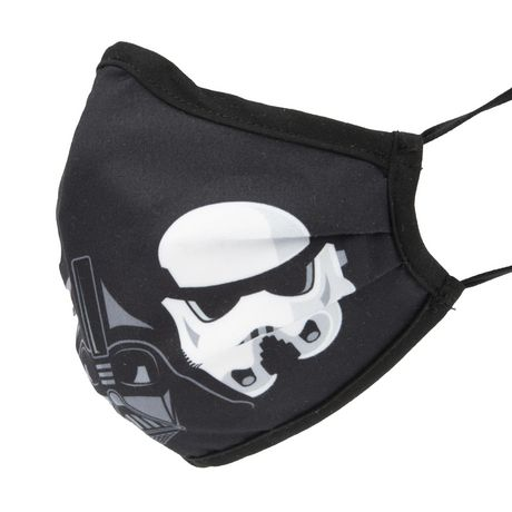 2Pc Pack Star Wars Adult Washable Mask - Non-Medical - image 5 of 9