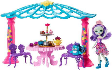 Enchantimals Garden Gazebo Playset + Patter Peacock Doll & Flap Figure - image 1 of 7