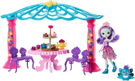 Enchantimals Garden Gazebo Playset + Patter Peacock Doll & Flap Figure - image 3 of 7