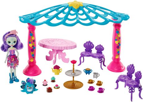 Enchantimals Garden Gazebo Playset + Patter Peacock Doll & Flap Figure - image 2 of 7