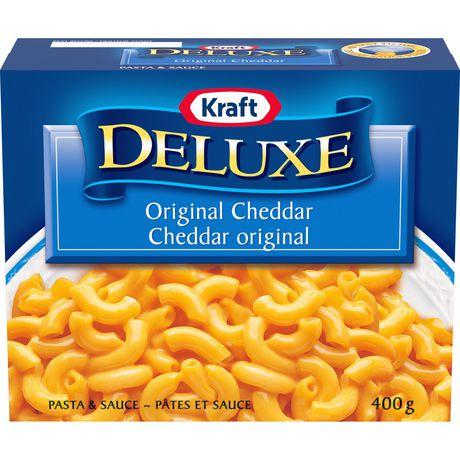 Kraft Deluxe Original Cheddar Macaroni & Cheese Dinner - image 1 of 2