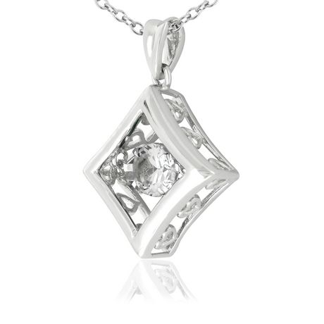 Dancing Diamond Necklace Walmart