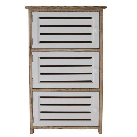 hometrends 3 Door Wood Cabinet - image 1 of 4