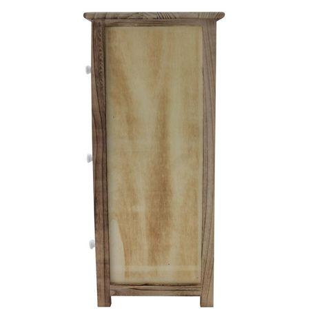 hometrends 3 Door Wood Cabinet - image 3 of 4