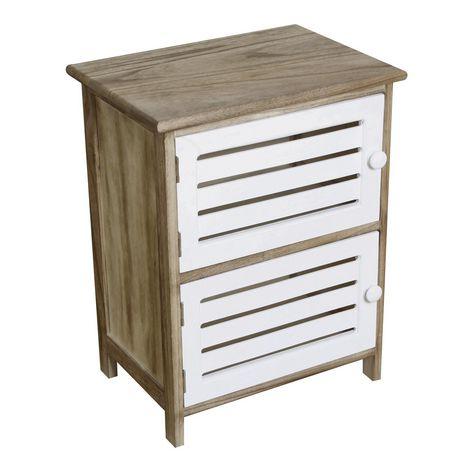 hometrends 2 Door Wood Cabinet - image 1 of 5
