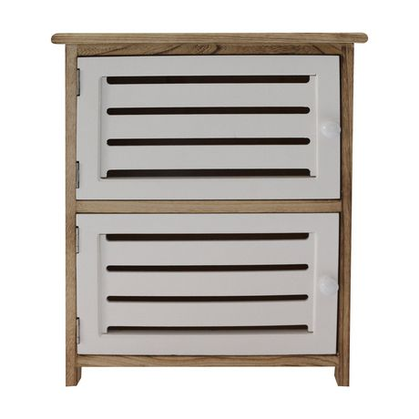 hometrends 2 Door Wood Cabinet - image 2 of 5