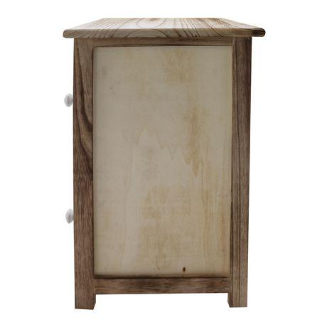 hometrends 2 Door Wood Cabinet - image 4 of 5