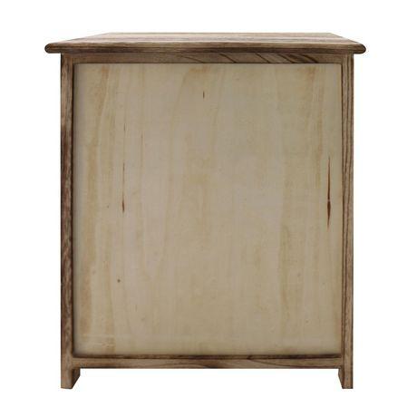 hometrends 2 Door Wood Cabinet - image 3 of 5