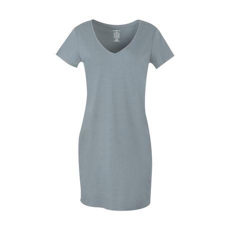 2f87ad3198e George Women s V-Neck T-Shirt Dress - image 1 ...
