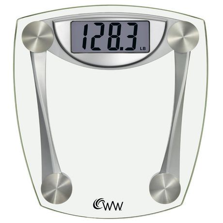 Weight Watchers 174 Digital Glass Scale Walmart Canada