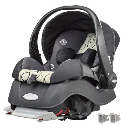 Evenflo Embrace\xe2\x84\xa2  Infant Car Seat Clay w/SureSafe Installation - image 1 of 6